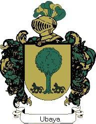 Escudo del apellido Ubaya
