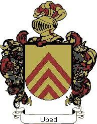 Escudo del apellido Ubed