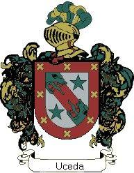 Escudo del apellido Uceda