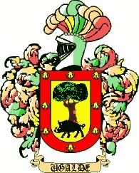 Escudo del apellido Ugalde