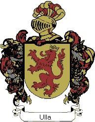 Escudo del apellido Ulla