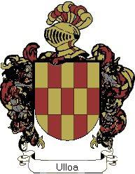 Escudo del apellido Ulloa