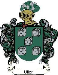 Escudo del apellido Ullor