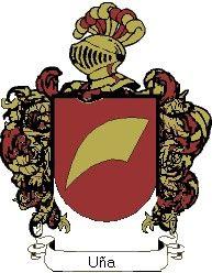Escudo del apellido Uña