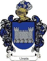 Escudo del apellido Urreta