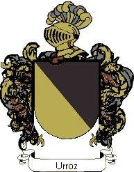 Escudo del apellido Urroz