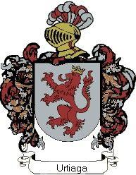 Escudo del apellido Urtiaga