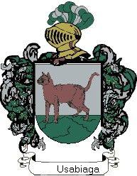 Escudo del apellido Usabiaga
