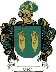 Escudo del apellido Usan