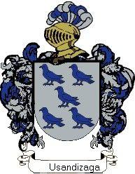 Escudo del apellido Usandizaga
