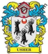 Escudo del apellido Usher