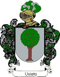 Escudo del apellido Usieto