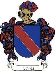 Escudo del apellido Utrillas