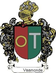 Escudo del apellido Vaamonde