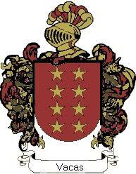 Escudo del apellido Vacas