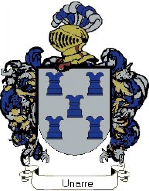 Escudo del apellido Unarre
