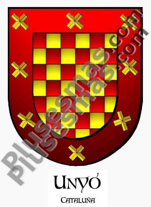 Escudo del apellido Unyó