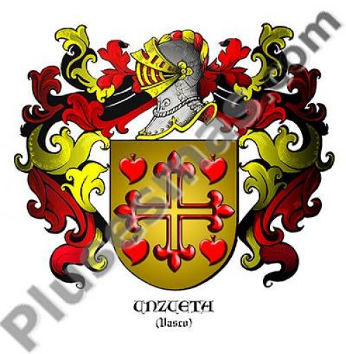 Escudo del apellido Unzueta