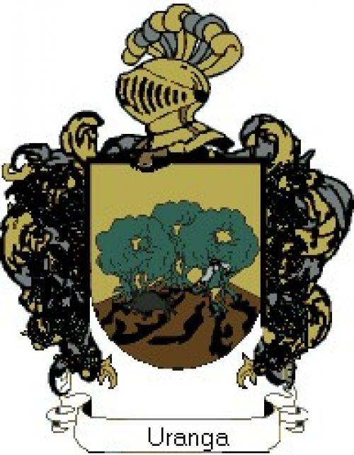 Escudo del apellido Uranga