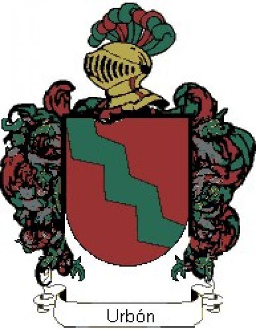 Escudo del apellido Urbón
