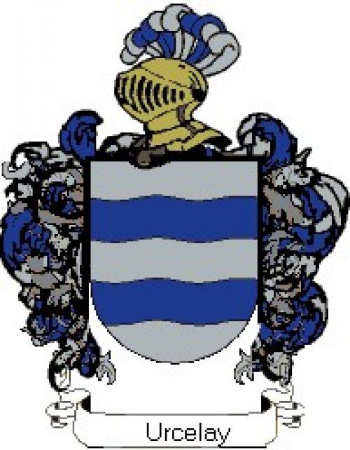 Escudo del apellido Urcelay