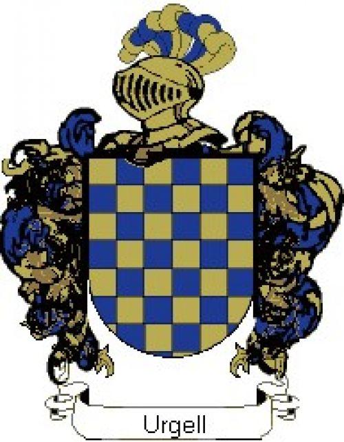 Escudo del apellido Urgell