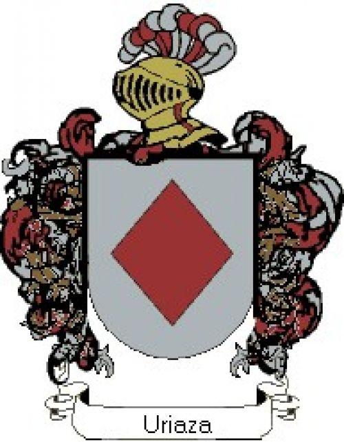 Escudo del apellido Uriaza
