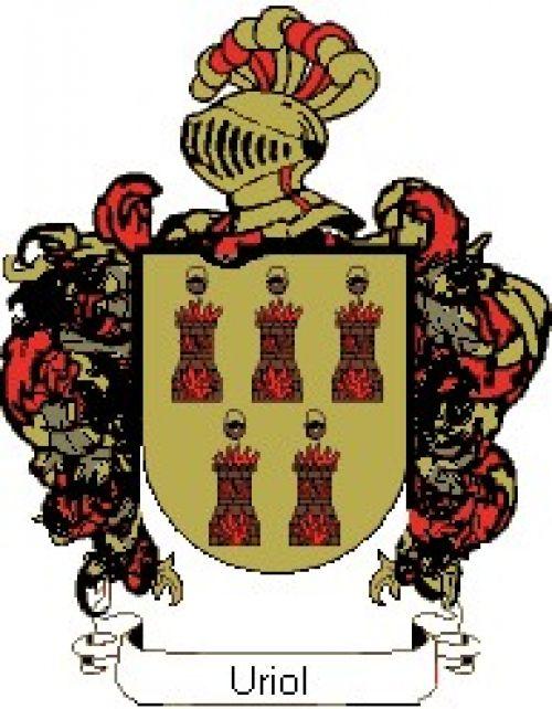 Escudo del apellido Uriol