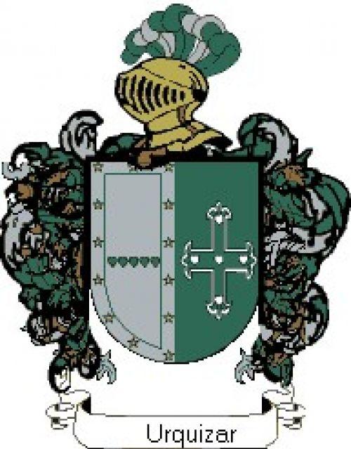 Escudo del apellido Urquizar