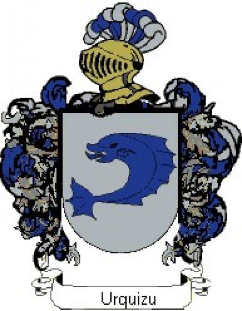 Escudo del apellido Urquizu