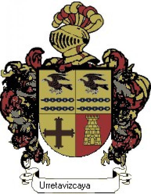 Escudo del apellido Urretavizcaya