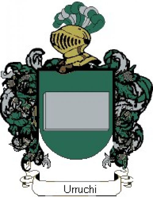 Escudo del apellido Urruchi