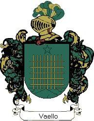 Escudo del apellido Vaello
