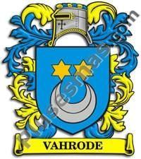 Escudo del apellido Vahrode