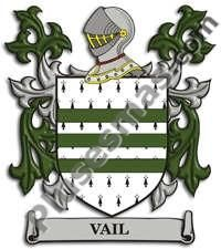 Escudo del apellido Vail