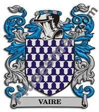 Escudo del apellido Vaire