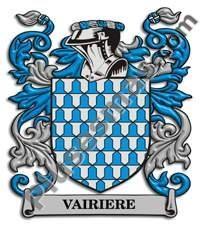 Escudo del apellido Vairiere