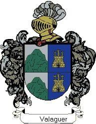 Escudo del apellido Valaguer