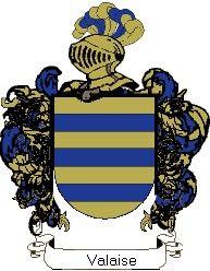 Escudo del apellido Valaise