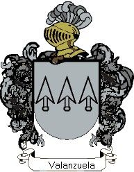 Escudo del apellido Valanzuela