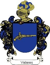 Escudo del apellido Valares