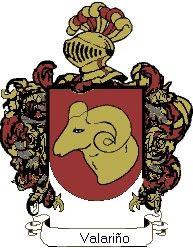 Escudo del apellido Valariño