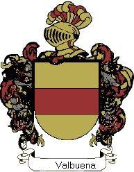 Escudo del apellido Valbuena