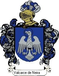 Escudo del apellido Valcarce de neira