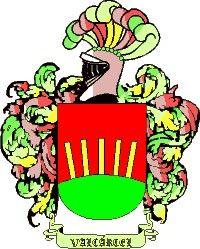 Escudo del apellido Valcarce o valcárcel