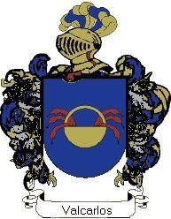 Escudo del apellido Valcarlos