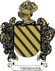 Escudo del apellido Valcarrocha