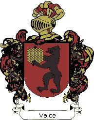 Escudo del apellido Valce