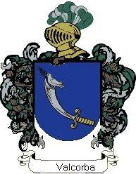 Escudo del apellido Valcorba
