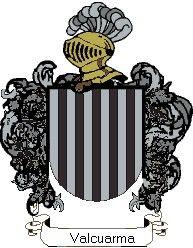 Escudo del apellido Valcuarma